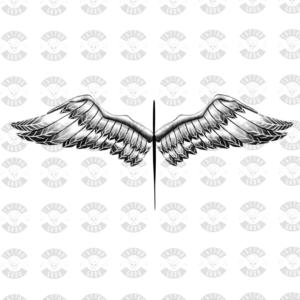 Ailes d'ange de tatouage