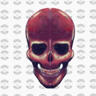 Cranio Neon tatuaggio acquerello arte