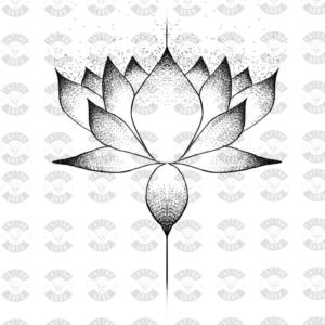 Tatuaje loto