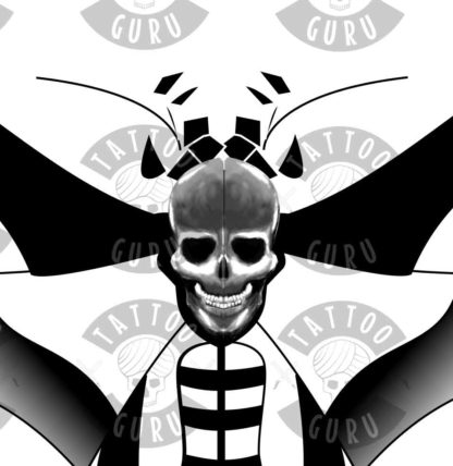 Tattoo Todesmotte 1