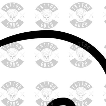 Fibonacci Tattoo zoom 2