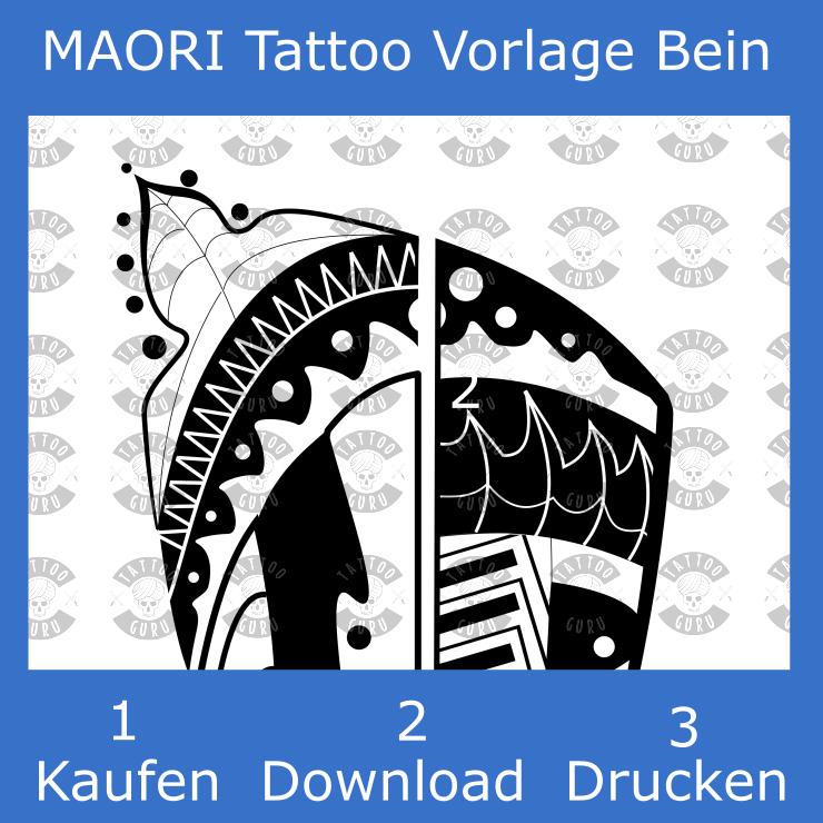 Maori tattoo muster