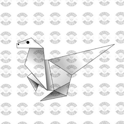 Origami tattoo