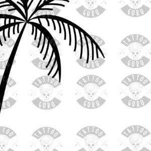 Tattoo Palmtree Closeup1