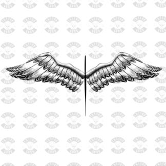 Tattoo engel Engelsflügel