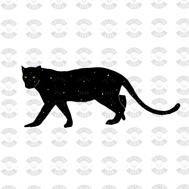 Tattoo Panther Template Tattoo Guru Net