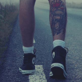 Tattoo calf