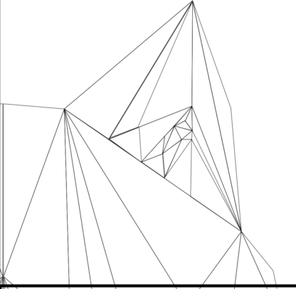 Tattoo Wolfskopf polygon Auschnitt 1