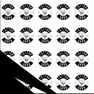 Tattoo Wolfskopf Seite Schwarz Zoom2