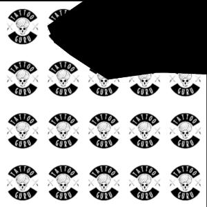Tattoo Wolfskopf Seite Schwarz Zoom3